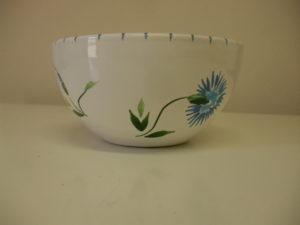 Bol en céramique collection bleuet