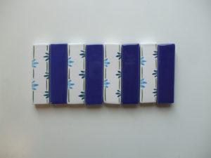 Porte couteaux bleuets